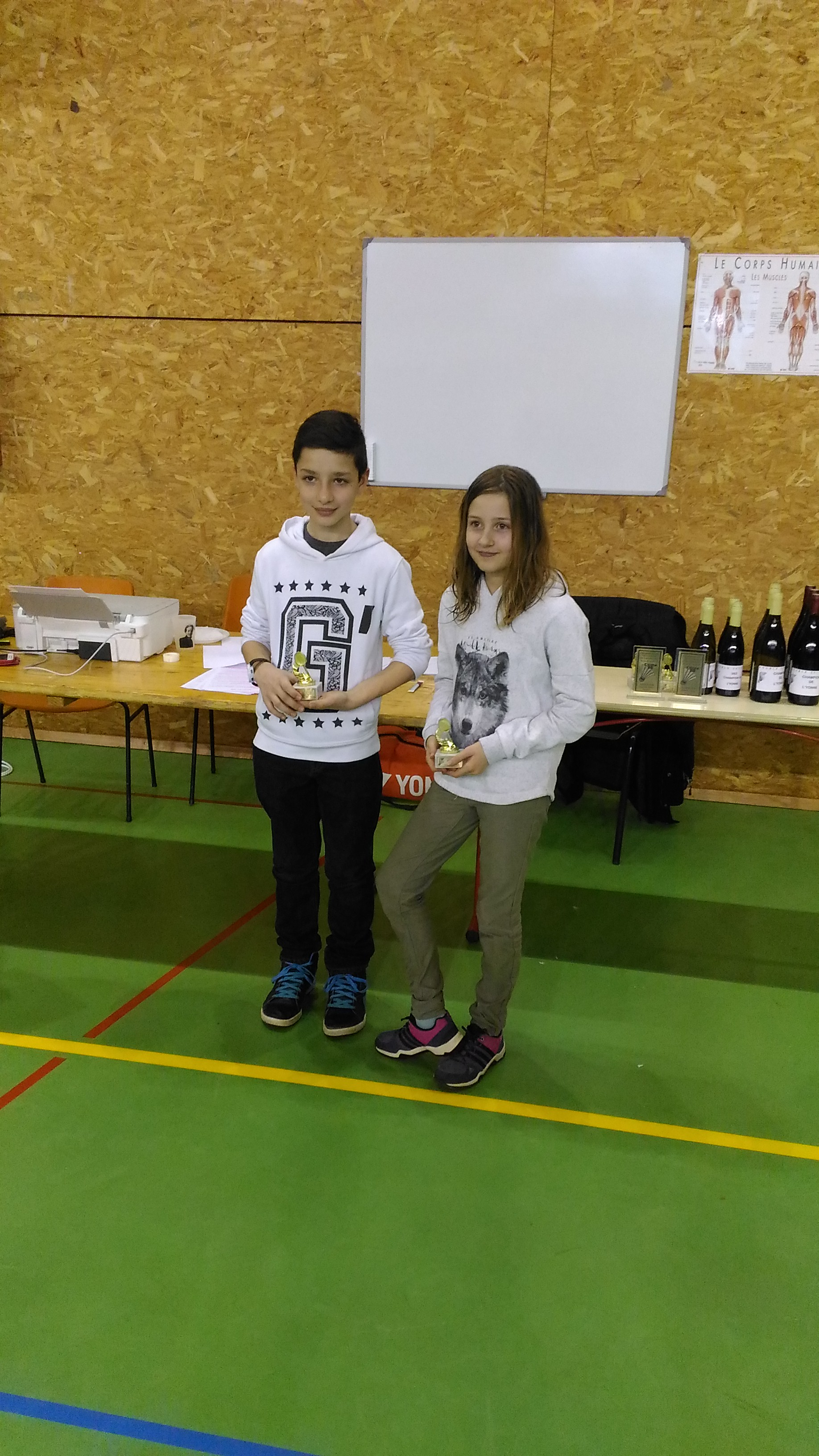 Vice-Champion Mixte Benjamins