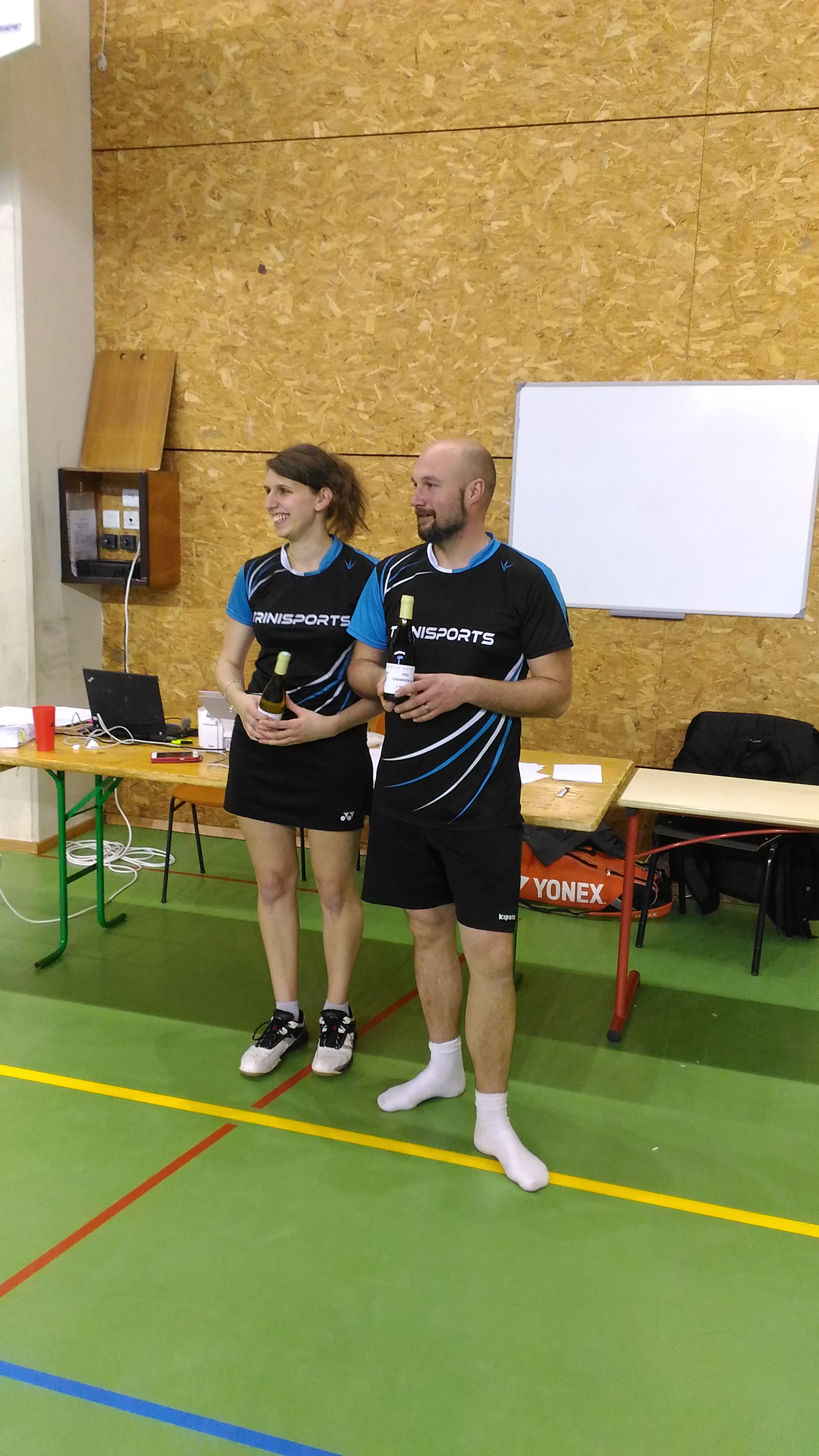 Vice-Champion Mixte D