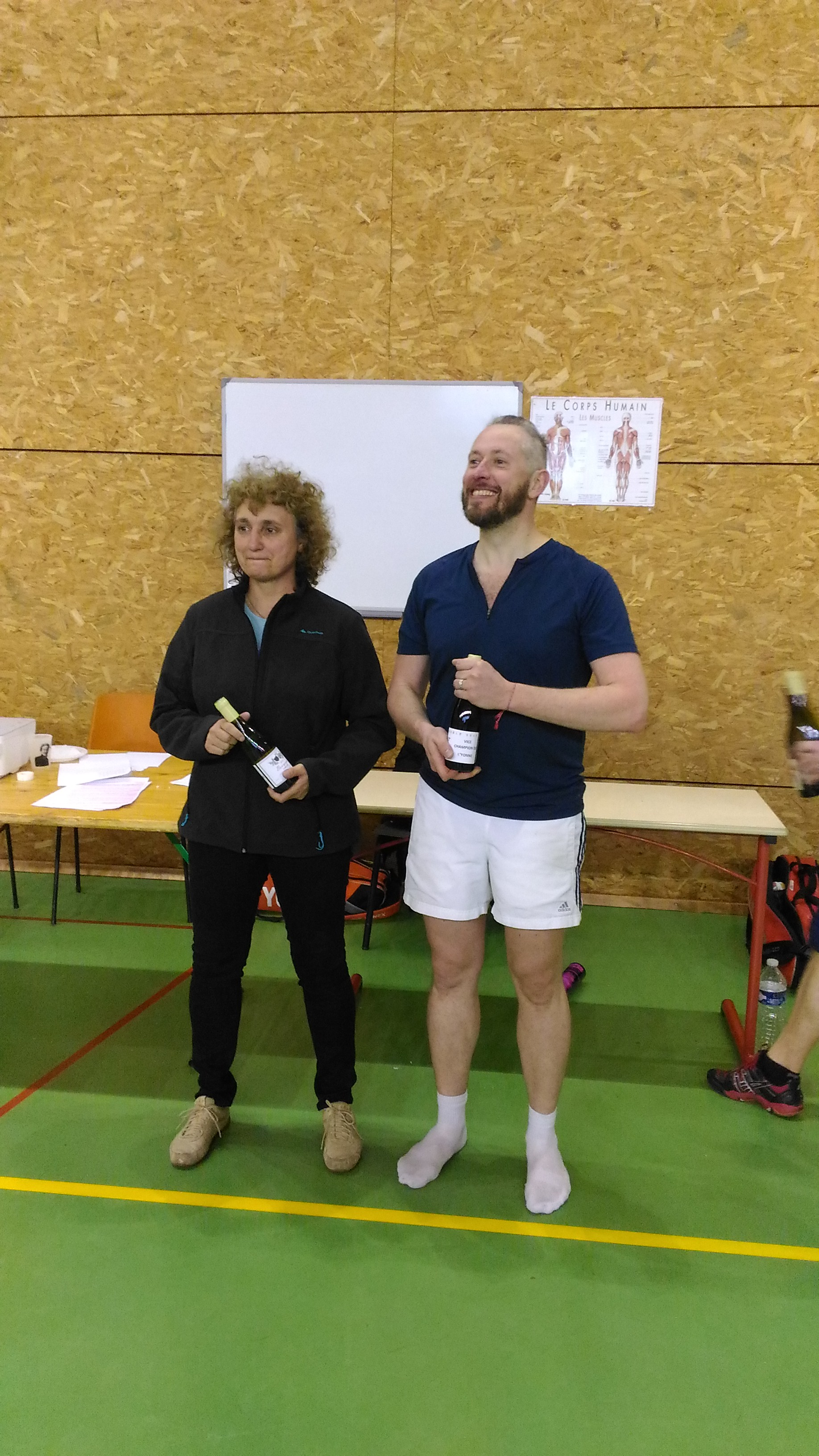 Vice-Champion Mixte R