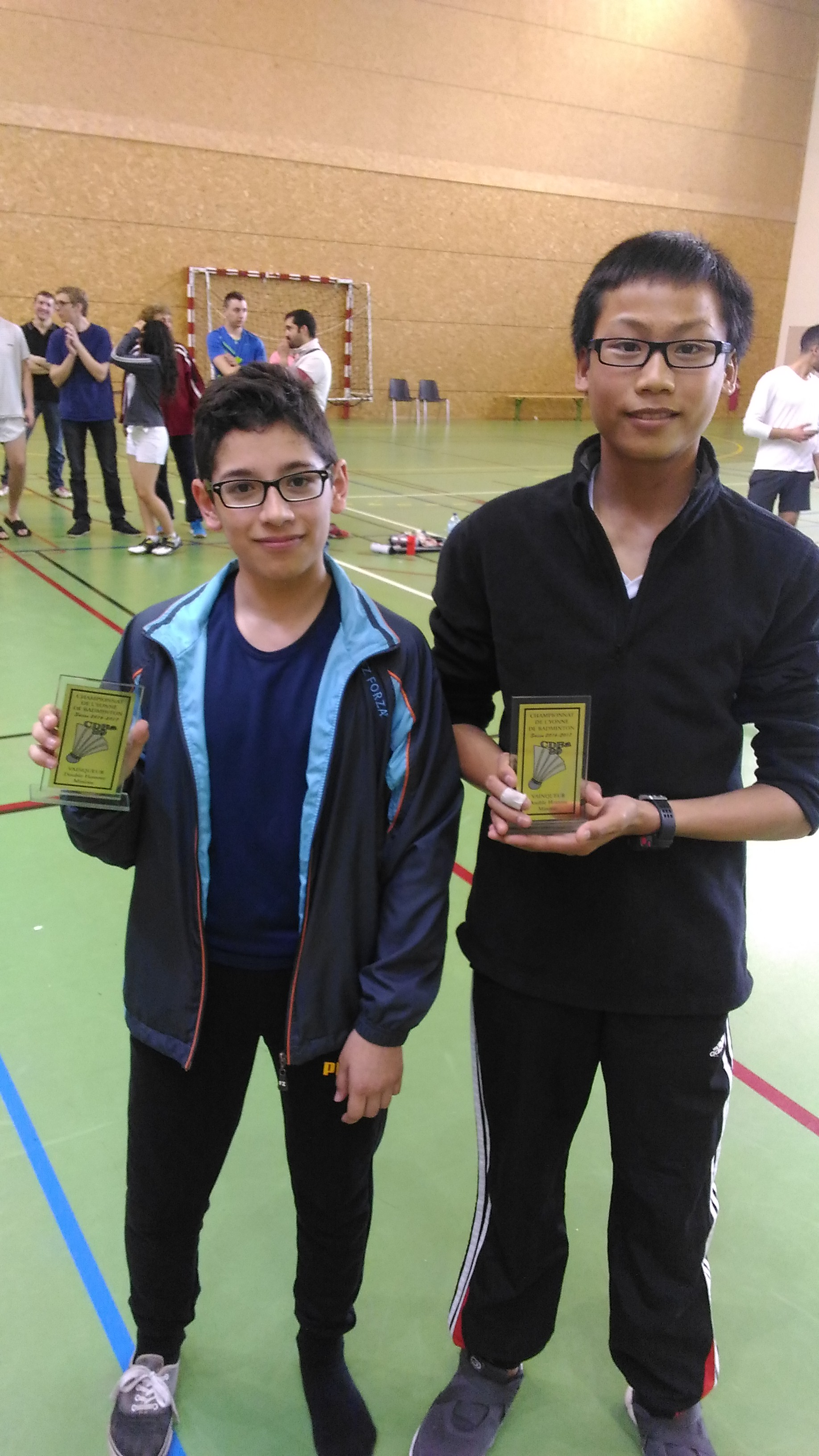 Champion Double Hommes Minimes
