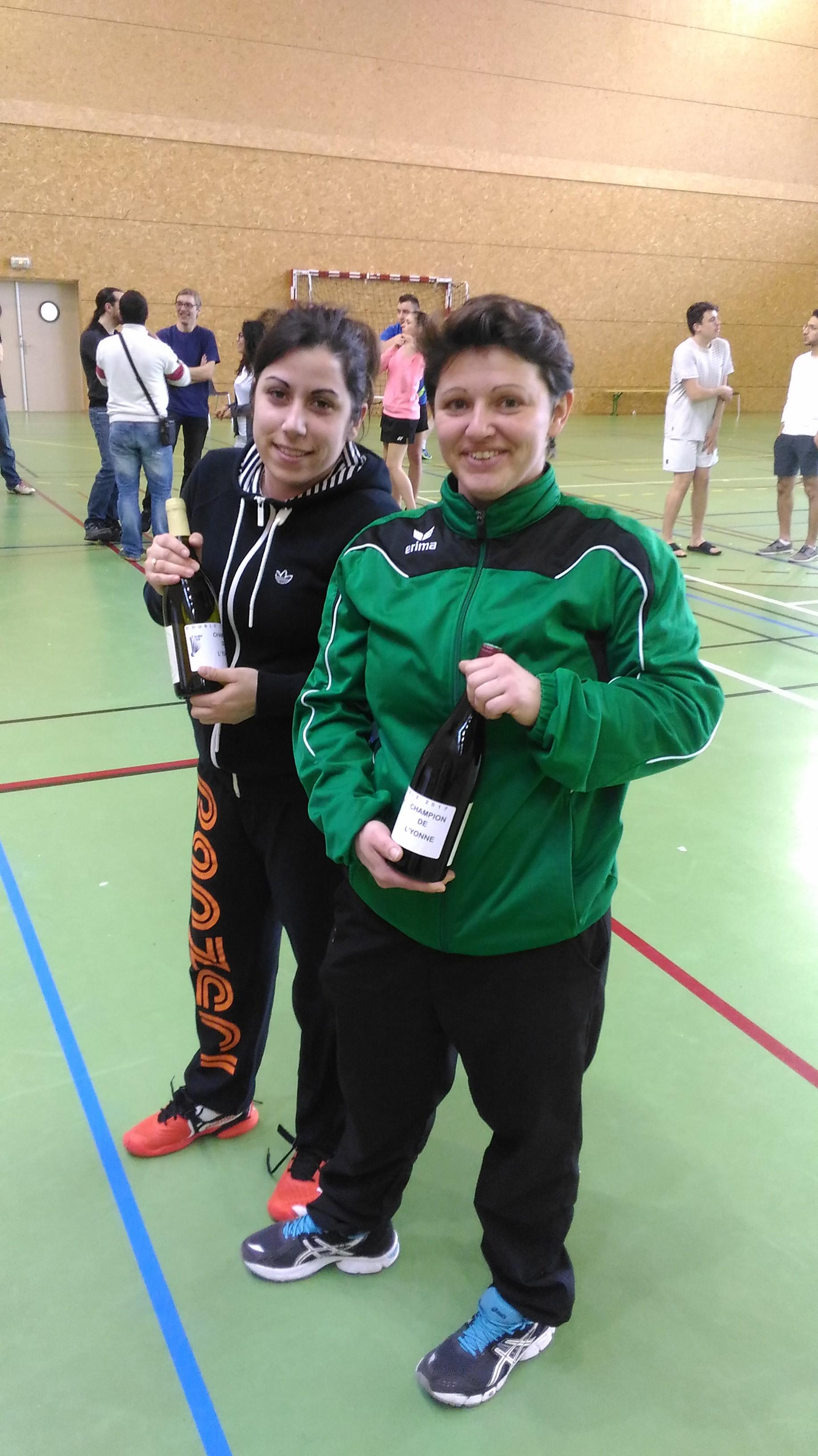 Championne Double Dames P