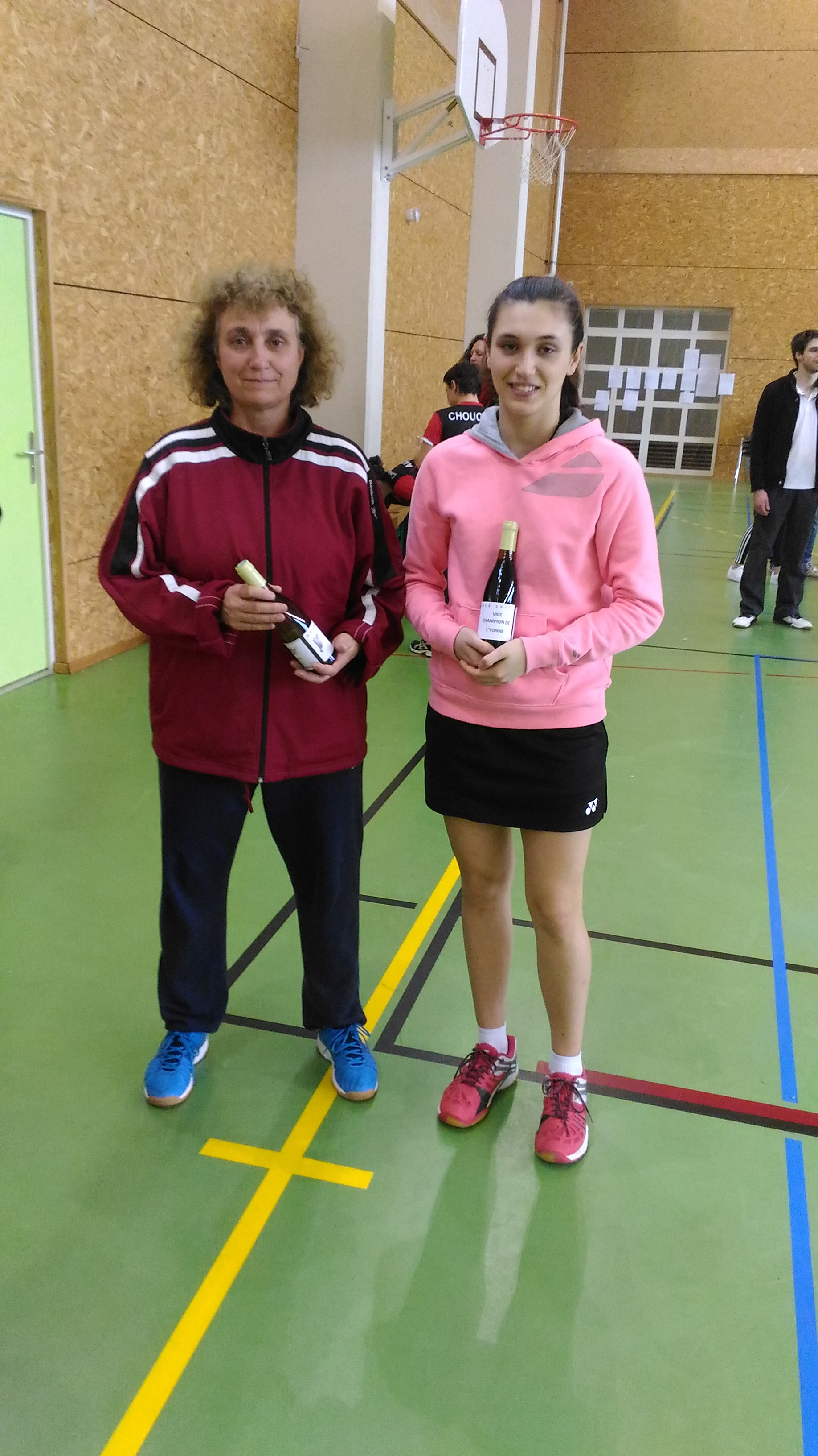 Vice-Championne Double Dames R
