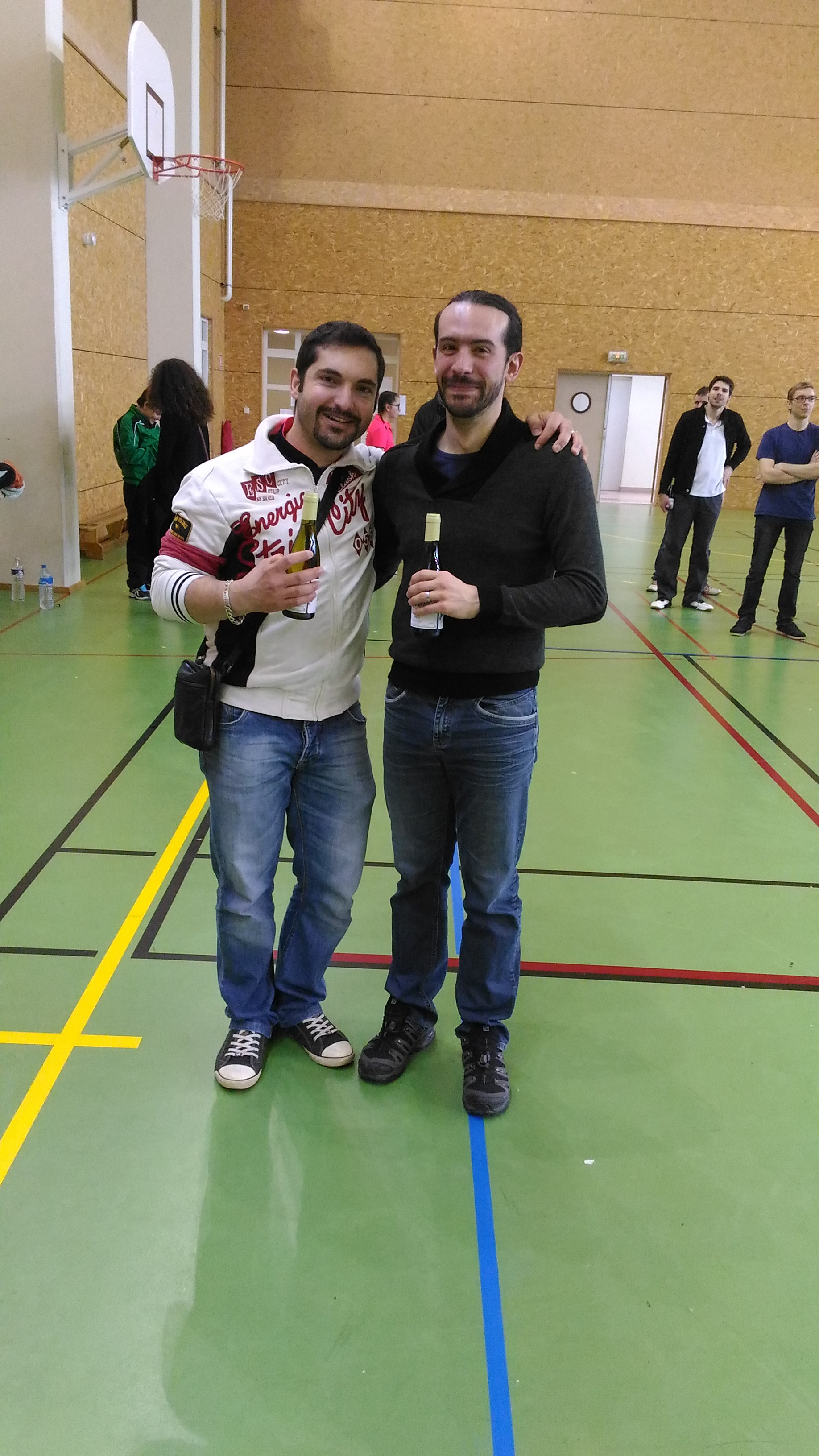 Vice-Champion Double Hommes R