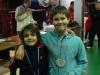 Champions de l\'Yonne en Double Hommes Poussin 2012-2013