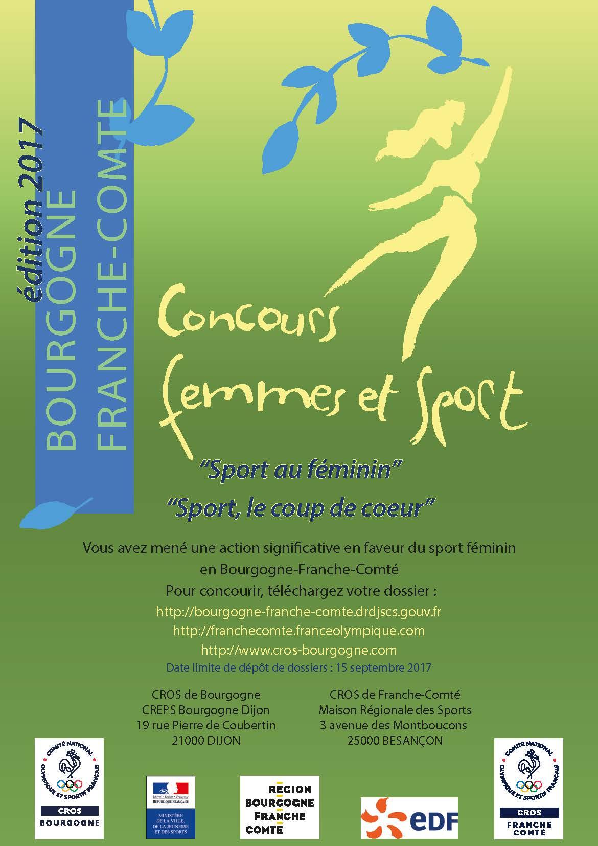 Concours femmes et sports